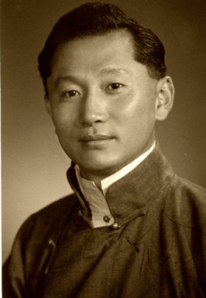 The last Chogyal of Sikkim Palden Thondup Namgyal