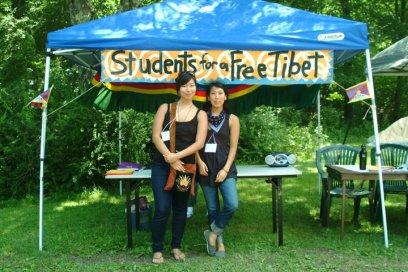 Me & Kunsang at Free Tibet! Action Camp (2010)