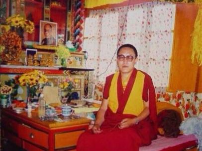 Tenzin Delek Rinpoche in Tibet