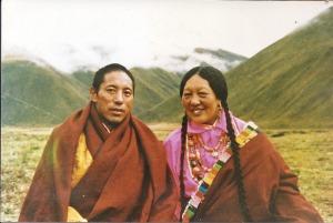 Namtrul Jikme Puntsok and Tare Lhamo