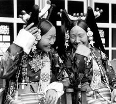 Aristocratic Women in Lhasa